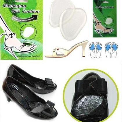 3 Pairs Comfy Gel Silicone Foot Hal..