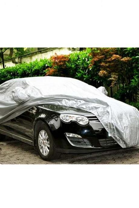 Universal Car Covers Styling Indoor Outdoor Sunshade Heat Protection Waterproof Dustproof Anti UV Scratch Resistant Sedan