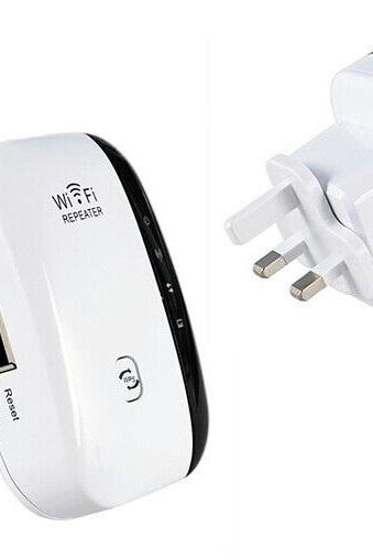 Wireless N Wifi Repeater 300 Mbps 802.11 AP Router Extender Booster Universal Plug