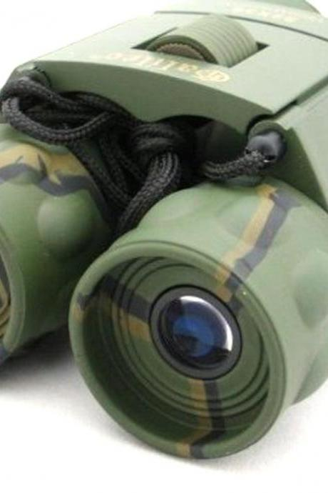 Hunting Compact Optical Clear Binoculars 22x36 field lens telescopes Camouflage (Color: Multicolor)