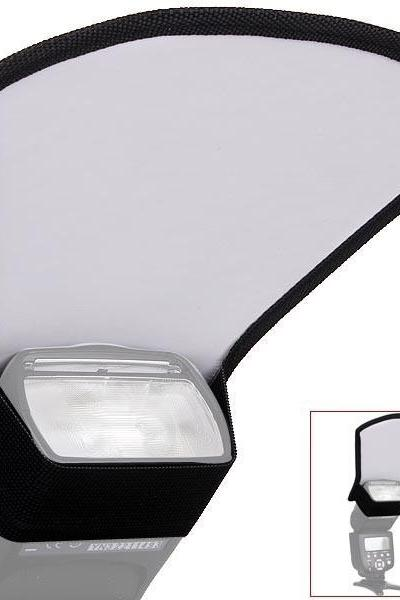 Universal Flash Diffuser Softbox Silver/White Reflector for Canon Nikon Pentax Yongnuo Speedlite Photography Studio Photo