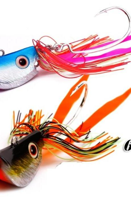 1 pcs/lot Bass Jig Lure Lead the SFT fishing hook The beard guy soft worm Lure bait and soft bait fish hook 20G/40G/60g/90G fishing tackle